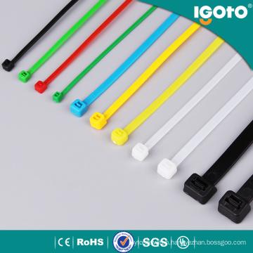 Igoto Black Nylon Cable Zip Wire Tie
