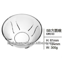2013 most popular promotion top quality dinnerware/glass bowl/tool made in China
