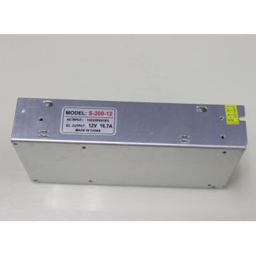 Led Driver 12V16.7A 200W Silvery Color Power Supply