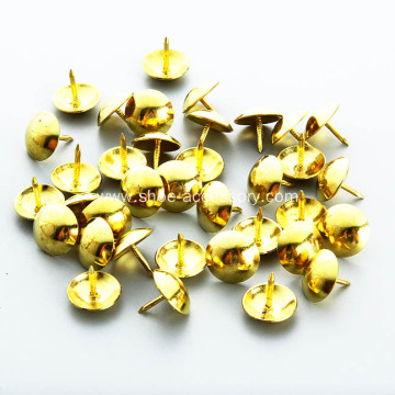 Domed Upholstery Nails 10.5mm Diameter Head