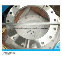 Flat Face Plate Flange En1092-1 Type01 Stainless Steel Flange