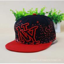 Moda bordado algodão impresso Twill Hip Hop Trukfit Cap (YKY3304)