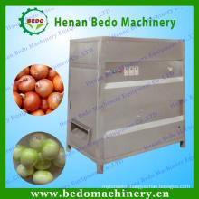 China factory supply stainless steel onions peeler/industrial onion peeling machine/onions skin peeler