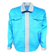 Feuerfeste Jacke Blau