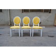 yellow vinyl louis wedding chair XYN467
