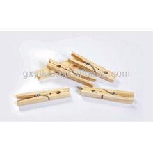 Pinces à bois en pin à chaud