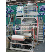 Máquina de sopro giratória da película da cabeça de série de SJ-B (CE)