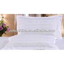 High quality design direct factroy made wholesale 100% cotton white hospital pillow cover