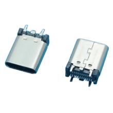 Разъем USB3.1, тип C, вертикальный провал