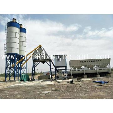 Indonesia Concrete Batch Mix Plant en venta
