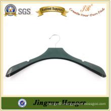Ladies wear Display Plastic Black custom suit hanger