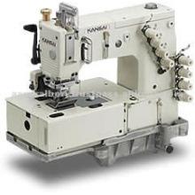 Máquina de coser de doble cadeneta de 1 a 4 agujas, serie DLR de Kansai