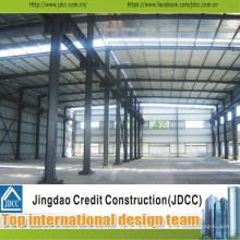Hangar de stockage de structure métallique préfabriquée