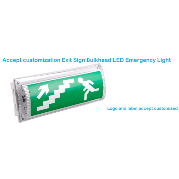 Personalización LED Bulkhead Impermeable IP54 / IP65 LED Luz de emergencia