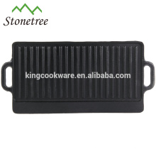 high quality Cast iron reversible bbq grills