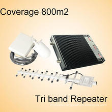 Tri Band GSM/UMTS/Lte Dcs 3G 900 1800 2100 Mobile Phone Signal Boosters
