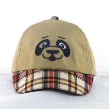 Fashion Dogs Kids Caps avec Check Pattern