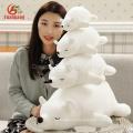 Venta al por mayor Navidad Animal Doll Custom GiantLargeMini Soft Stuffed Plush Polar Bear Toys