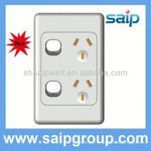 Настенный выключатель с таймером горячей продажи 2013, Австралийский стандартный выключатель серии AS