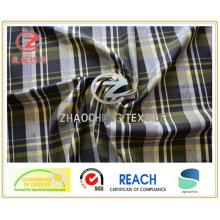 Ткань из пряжи с четырьмя тонированными пряженками (серебряная пряжа внутри) для куртки (ZCGP092)