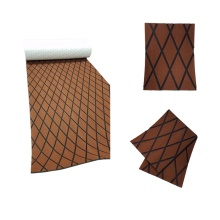 Melors EVA Decking Diamond Sheet Feuille de mousse brune