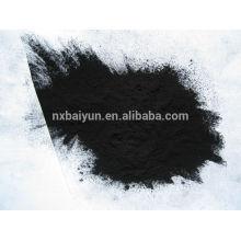 Carvão ativado em pó à base de madeira para produção química