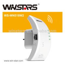 300Mbps 2.4GHz Wireless-N WPS WLAN 802.11n WiFi Repeater / AP