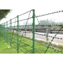 Fil en fer galvanisé en fer recouvert de PVC pour clôture