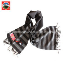 Écharpe de treillis de laine de yak pure / vêtement de cachemire / laine de yak vêtements / tissu / textile / tricots
