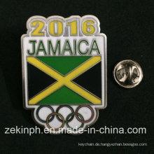 Niedriger Preis Jamaika Metall Abzeichen
