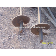Pernos de tornillo helicoidal, tornillos de tierra