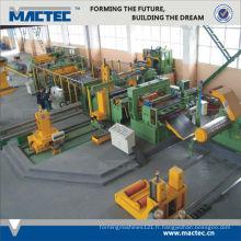 Machine à découper automatique ondulée en métal standard européen