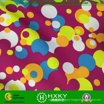 Tela de impresión colorida para niños Chaqueta de invierno