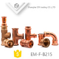 EM-F-B215 Top quality copper pipe joint fitting