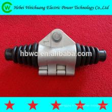 raccord électrique, pince de serrage de suspension de ligne