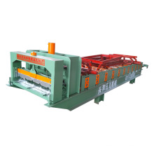 Máquina de azulejo de aço de cor