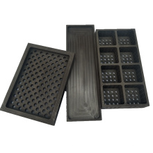 High temperature metal casting used artificial graphite boats