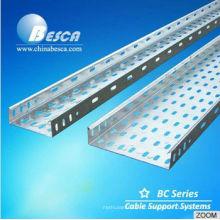 Sistema de soporte para bandejas de cables para trabajos pesados (UL, IEC, CE, ISO)