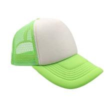Low price adjustable mesh baseball cap custom logo 5 panel cap