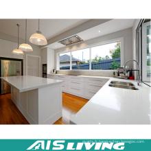 Meubles modernes d'armoires de cuisine de stockage de forme de L (AIS-K471)