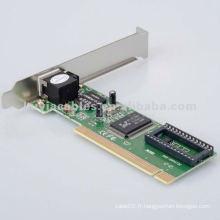 10 / 100Mbps Fast Ethernet Network CARD RTL8139D pour MAC Linux