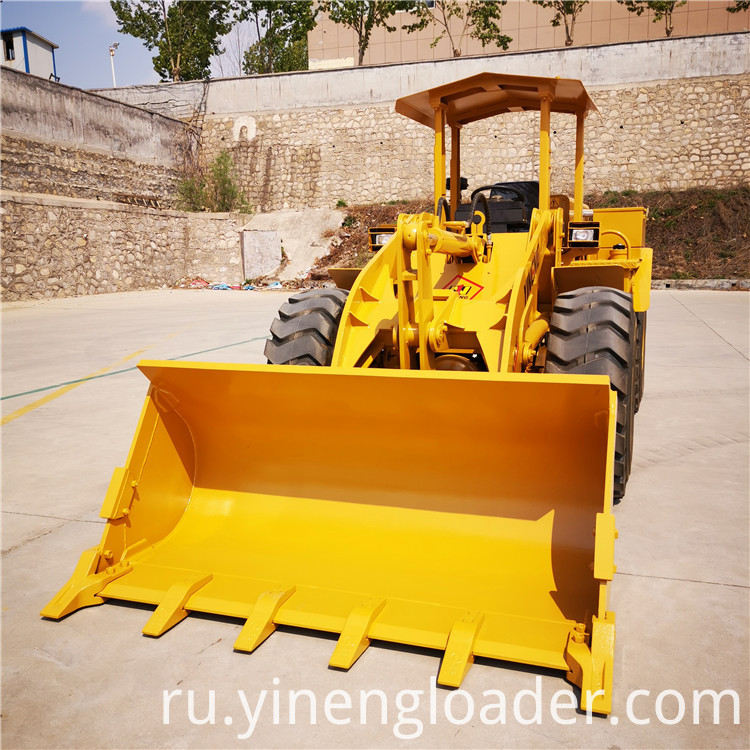 Small Mining Wheel Loader
