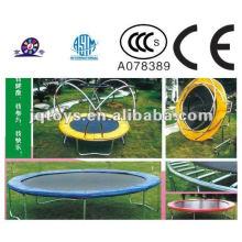 XF1105 Children Plastic Sports Trampoline With Closure Net