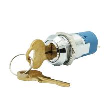 Momentane elektrische 19-mm-Schlüsselschalter mit doppeltem Reset