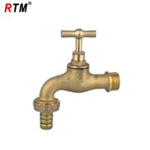 China Messing Einlochmontage Waschbecken Wasserhahn