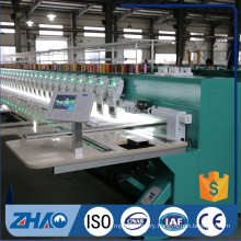 ZHAO921 flat with double sequin device computerized embroidery machine