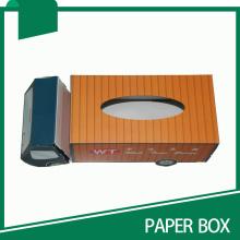 Camión de estilo personalizado de papel al por mayor llevar caja de cartón