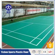 Revestimento sintético portátil da corte de badminton de China