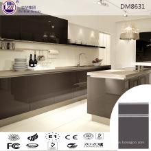 Moderno gabinete de cocina de diseño de cocina con panel de puerta UV