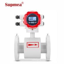 Industrial in line sanitary slurry seawater milk sewage flow meter analog chilled water irrigation water flow meter
